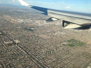 Llegada a Phoenix (Arizona)